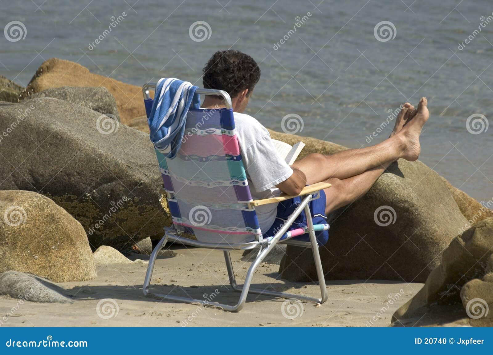 Lectura de la playa