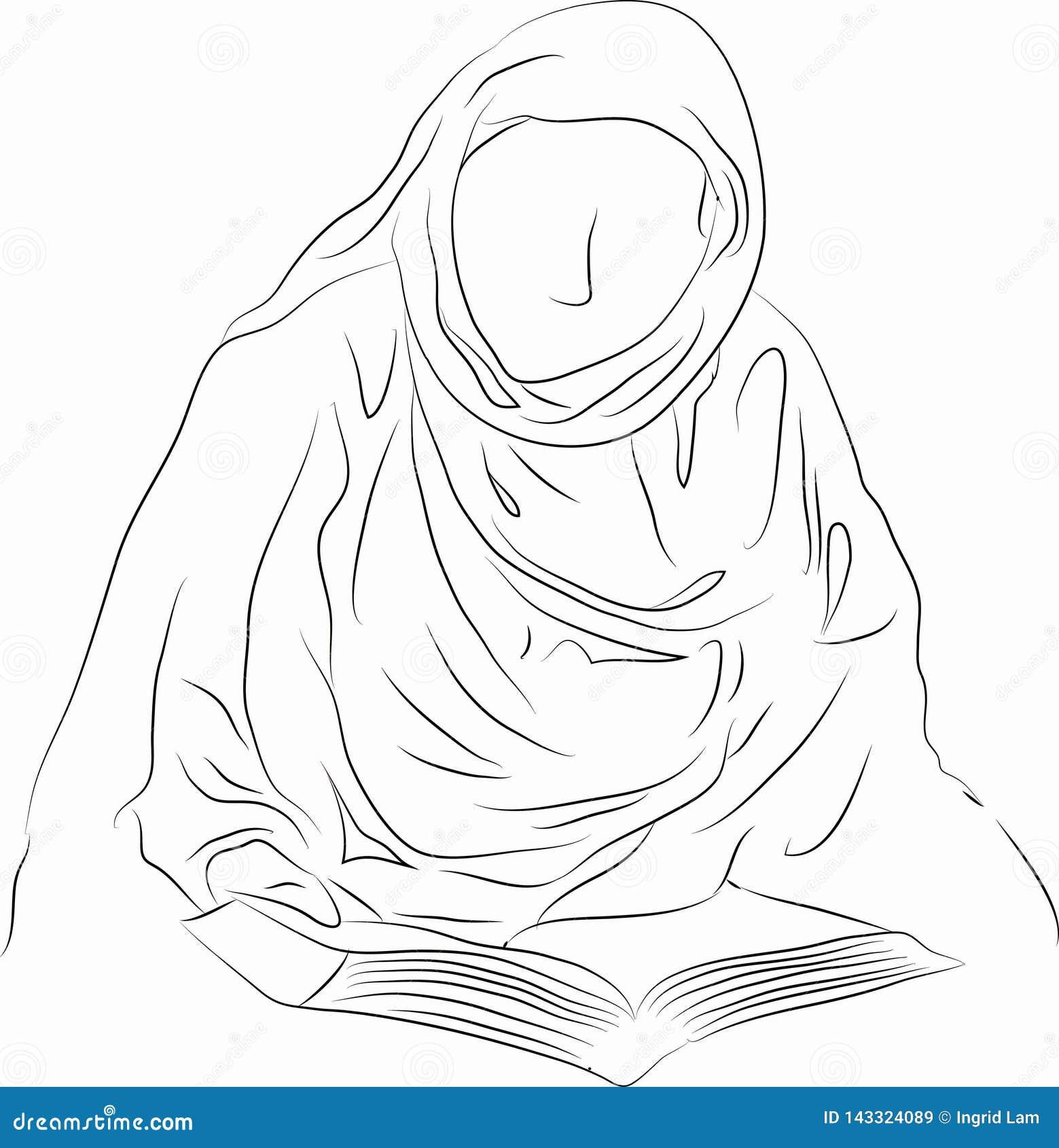 Lecture musulmane de femme