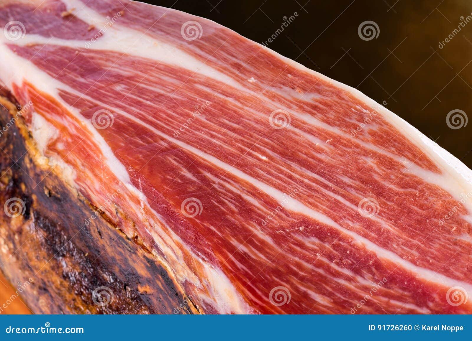 Leczący Hiszpański Iberyjski Bellota wieprzowiny baleron