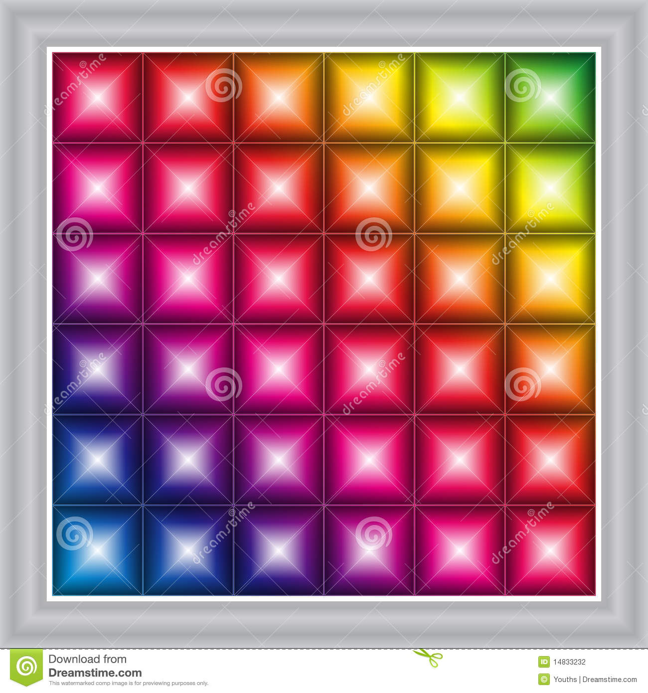 LED display background (vector)