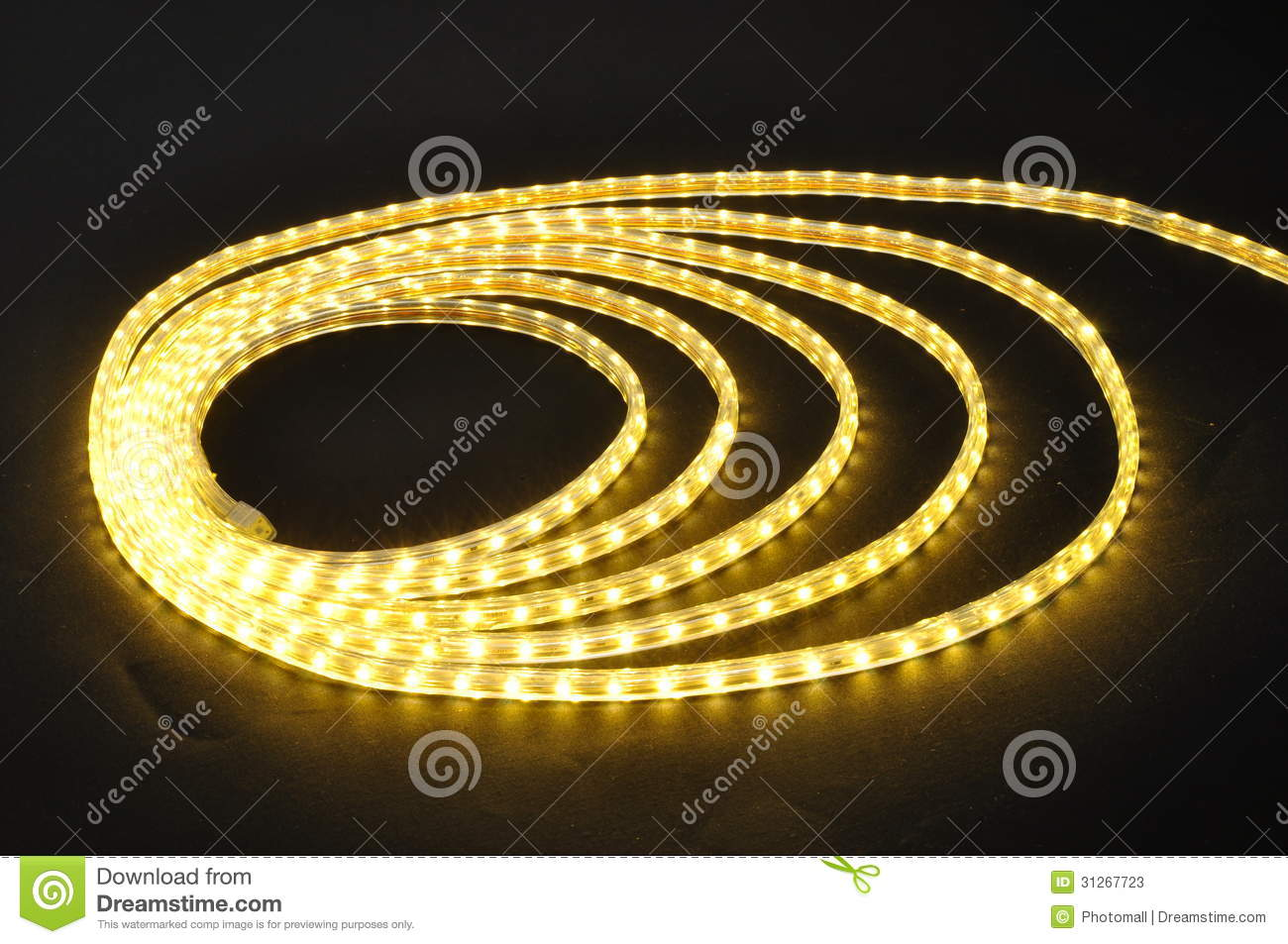 Led Lamp Belt Yellow Light Led Belt Led Strip Waterproof