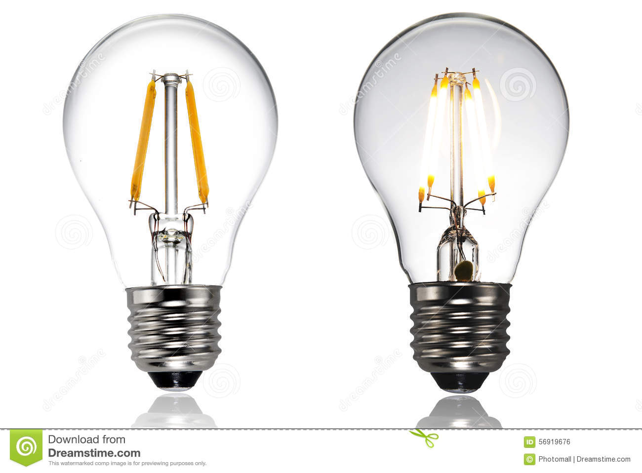 Led Light Bulb Stock Photo Image 56919676