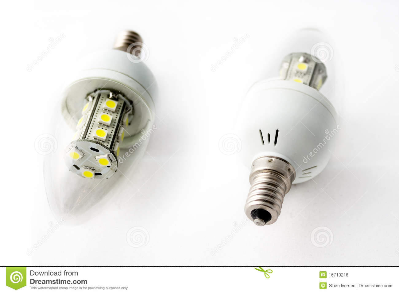 LED Light Bulbs Two