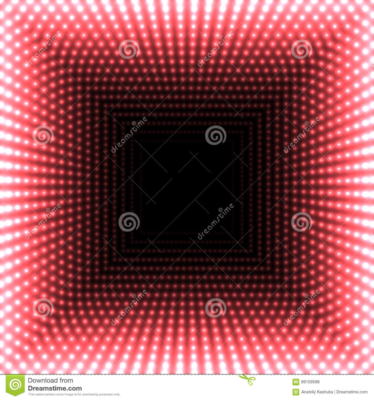 LED Mirror Abstract Square Background. Red Blazing Lights Fading ... for Red Led Light Texture  117dqh