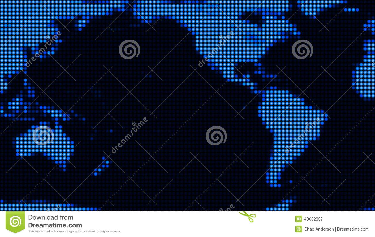 Led World Map.Led World Map Loop Stock Video Video Of Blue Superhighway 43682337