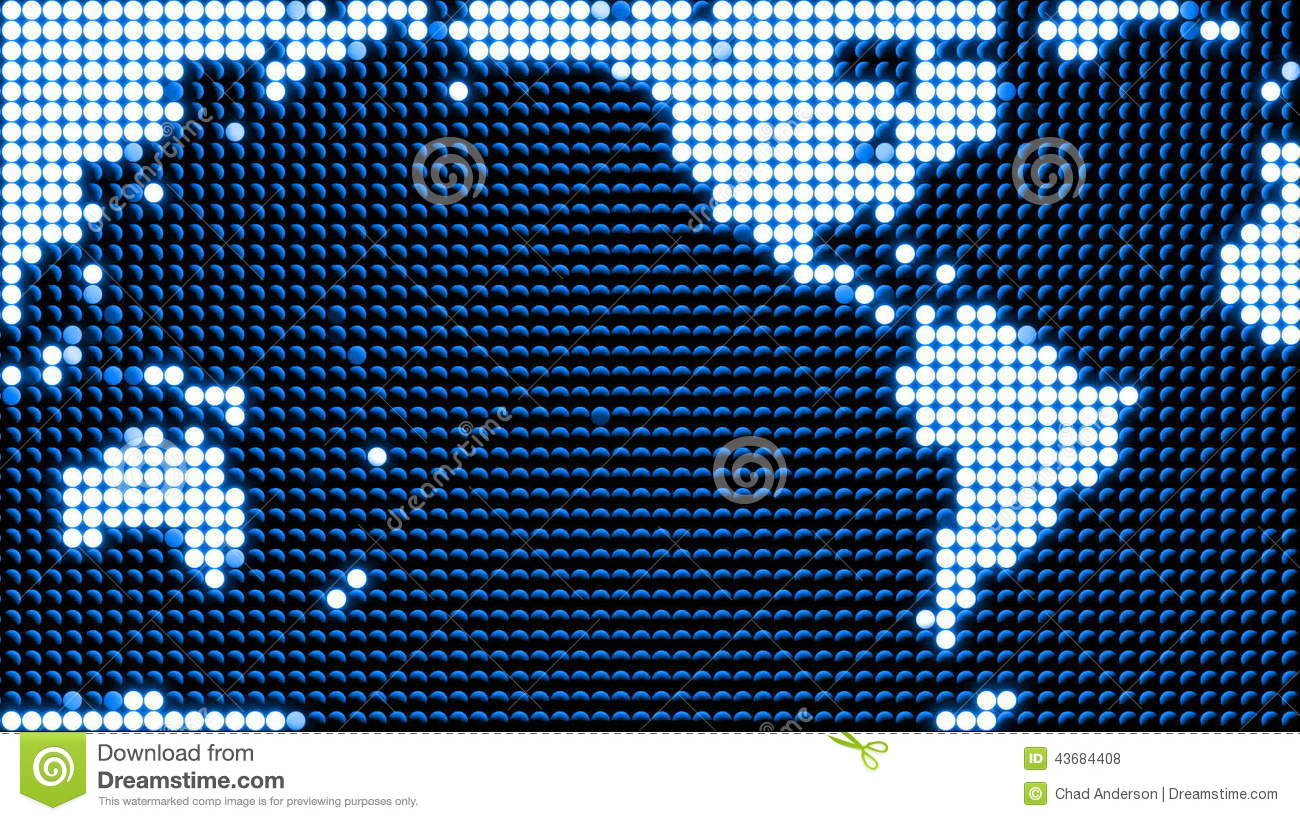 Led World Map.Led World Map Loop Stock Footage Video Of Superhighway 43684408