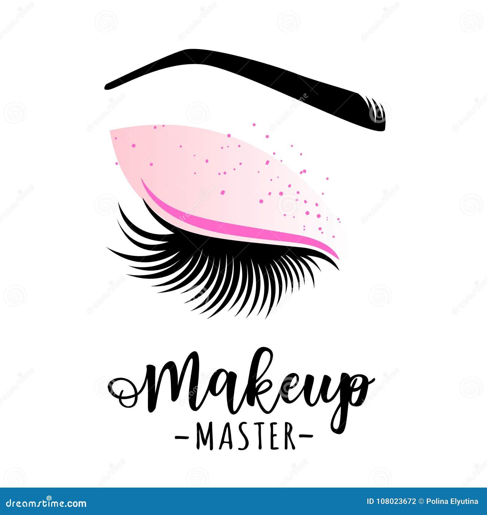 Ledar- logo för makeup