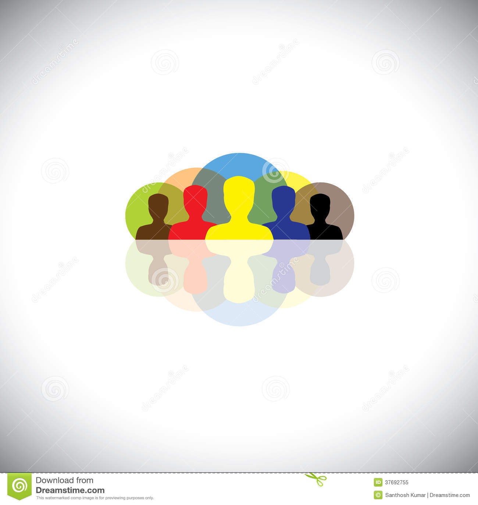Ledare & ledarskap i corporates & företag - vektorbegrepp