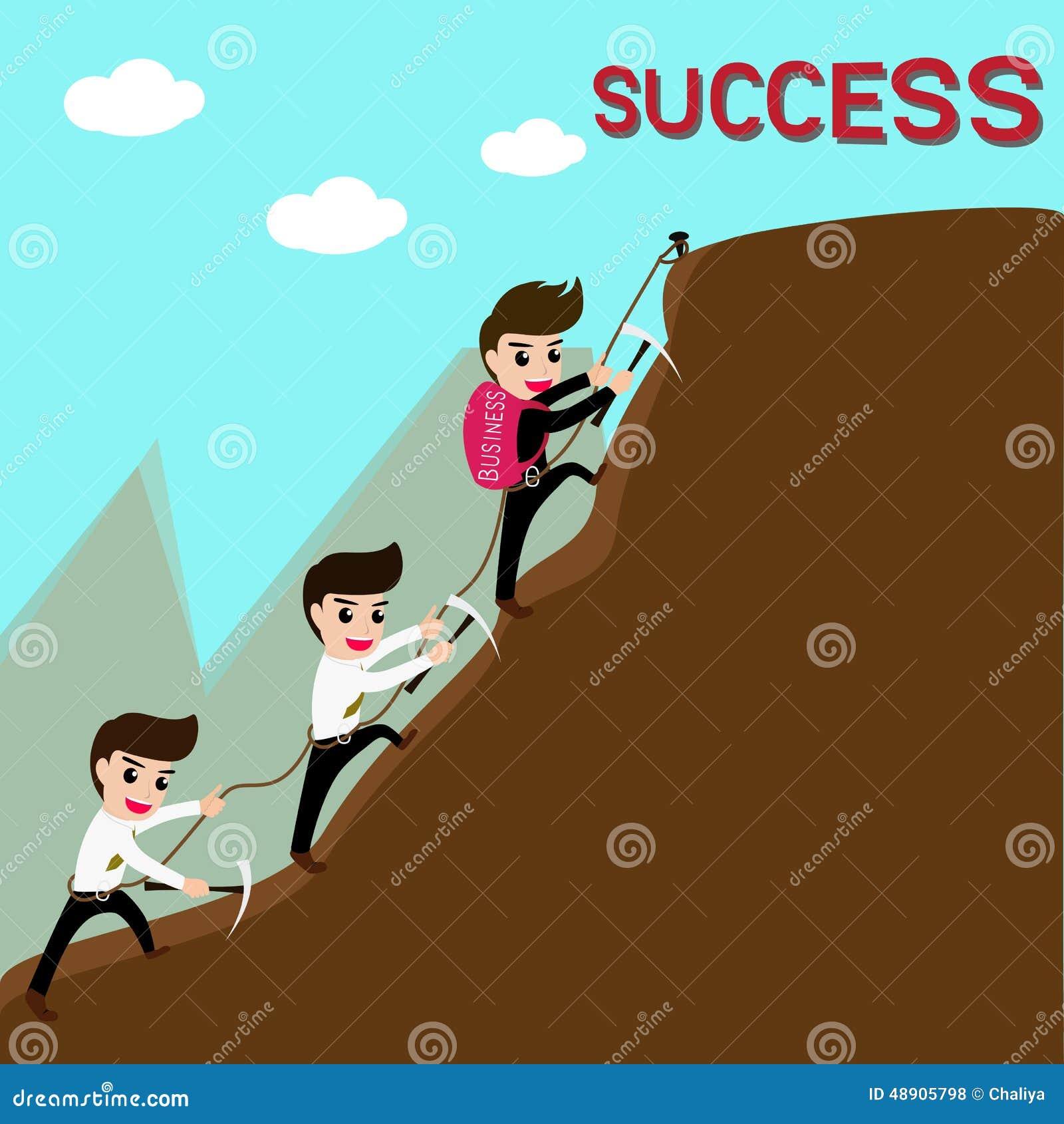 Ledarskap och laget är framgång i affär
