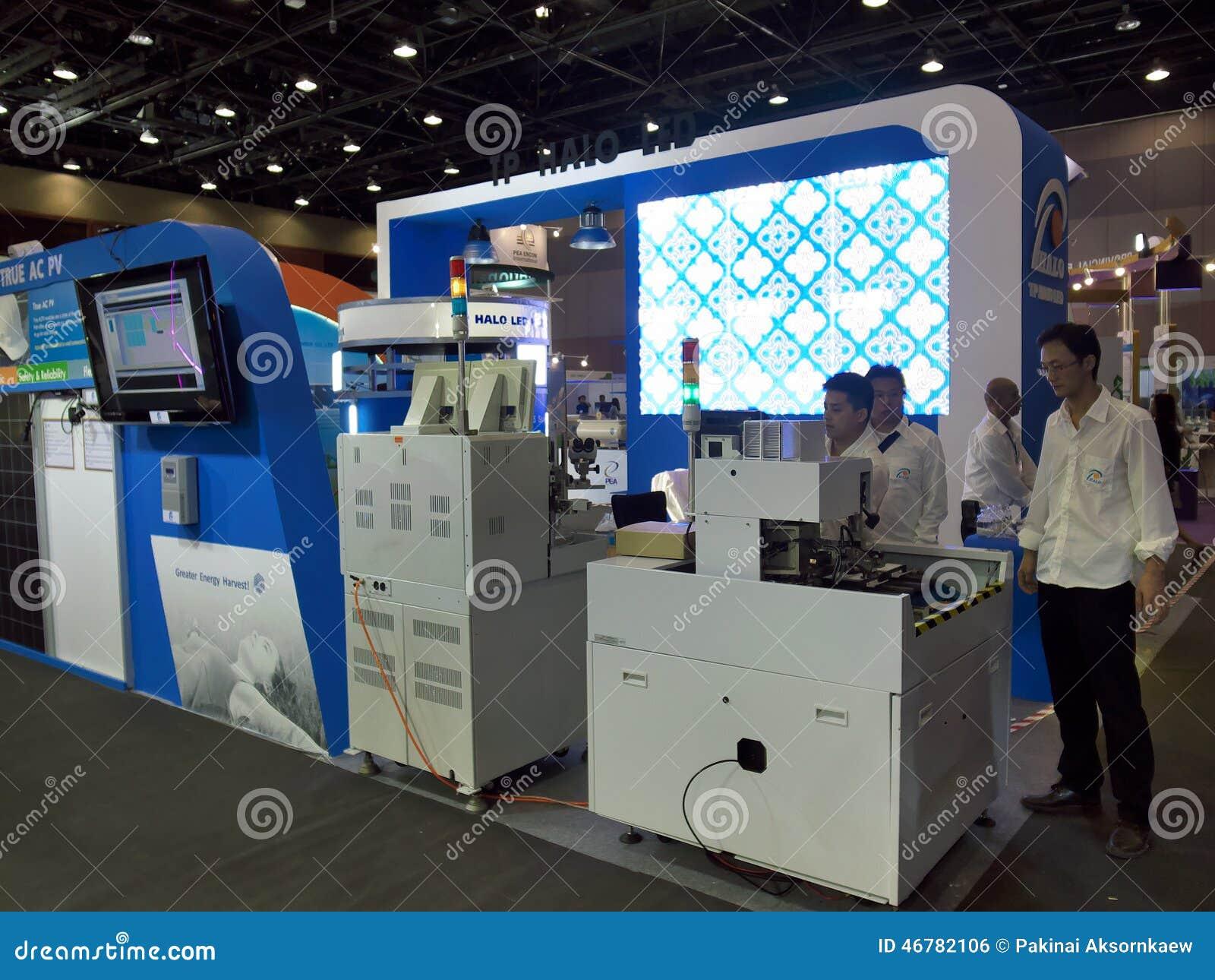 Ledd byggnadsmaskin Ecolighttech asia 2014
