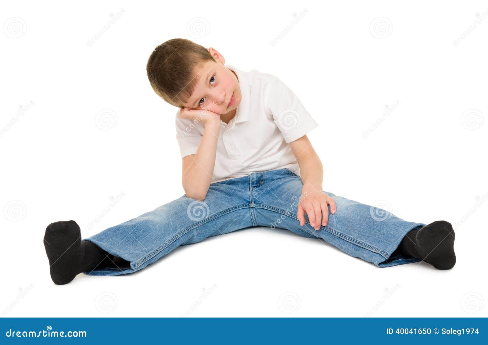 Vit tonåring svarta tuppar