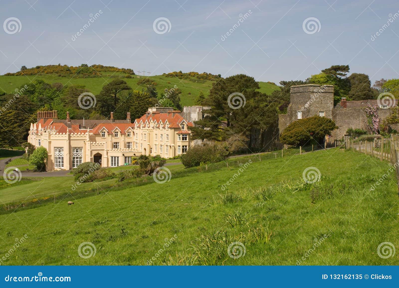 Lee Abbey, Devon du nord, Angleterre