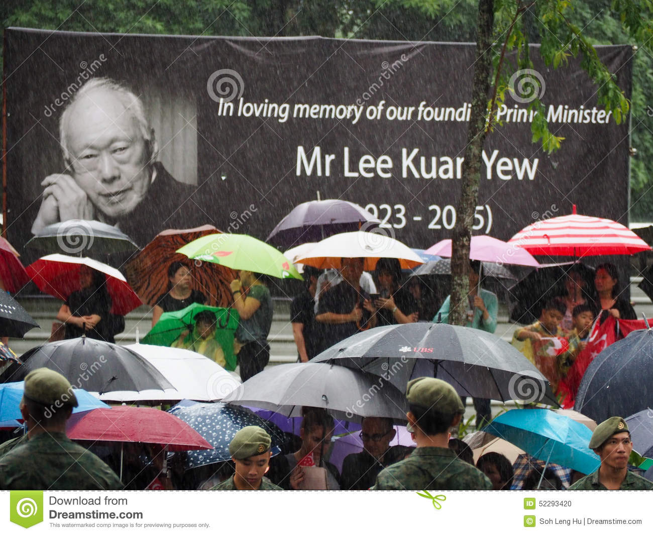 Lee Kuan Yew s funeral procession