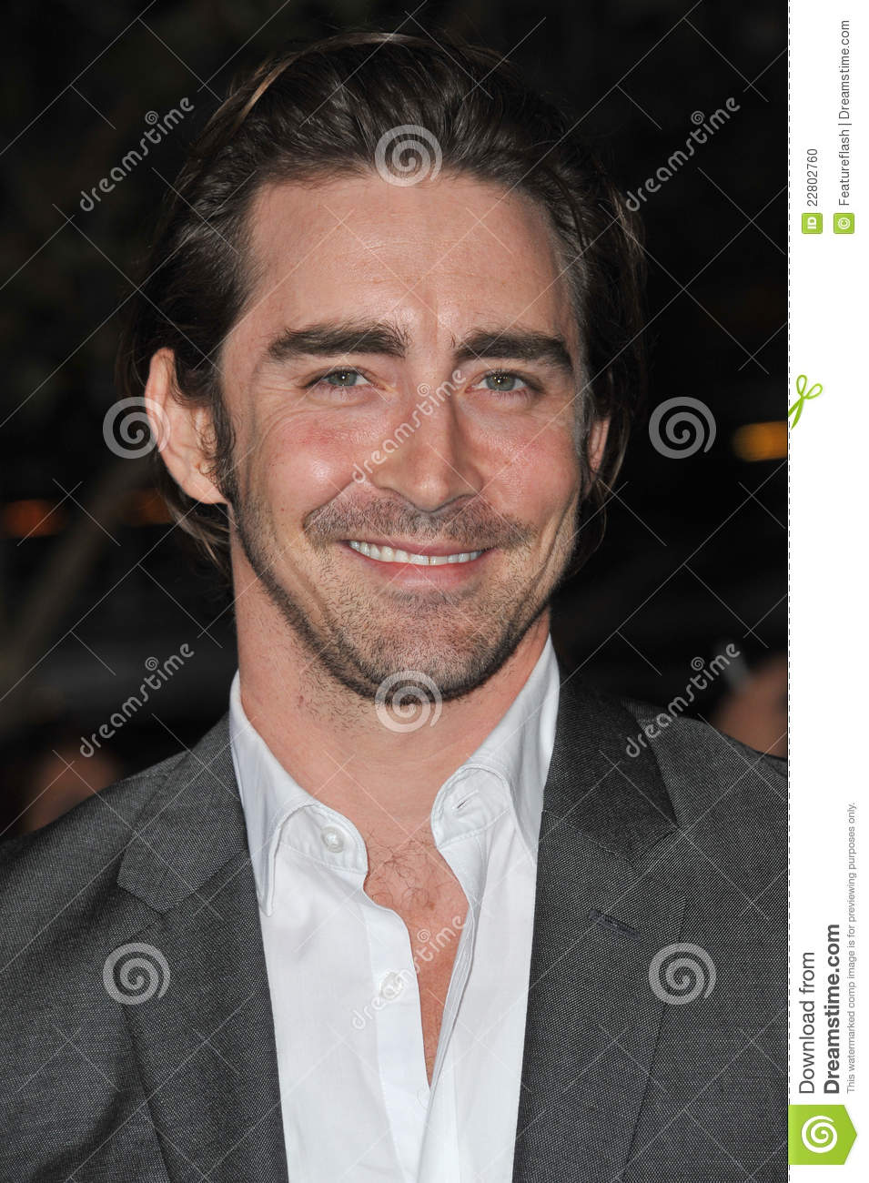 Lee Pace at the world ...