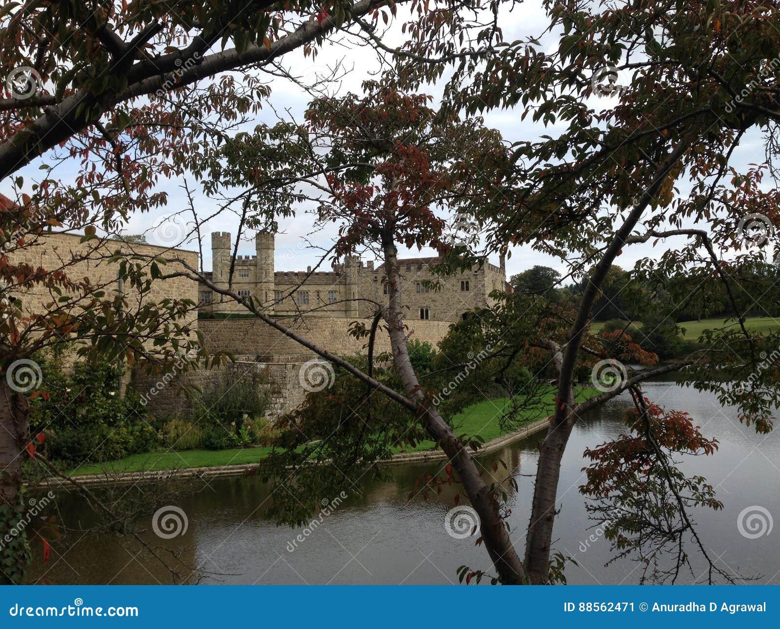 Leeds Castle i Kent United Kingdom