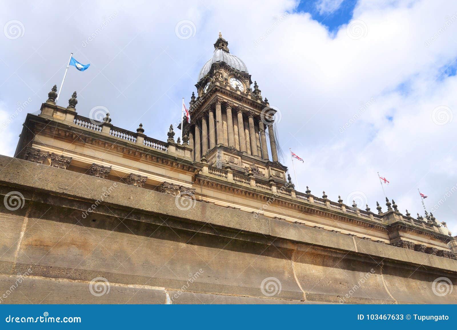 Leeds Reino Unido - ayuntamiento