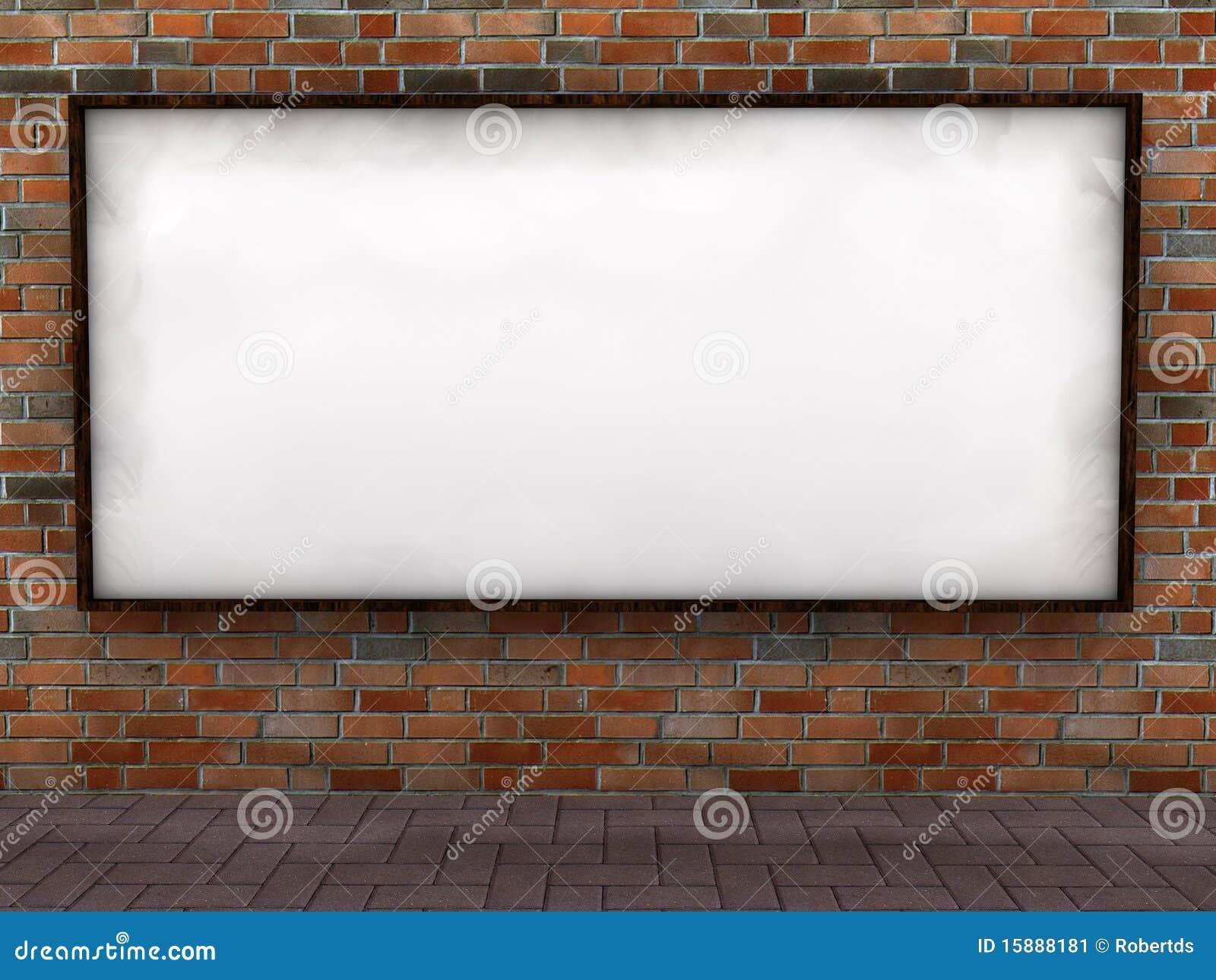 Leeg aanplakbord