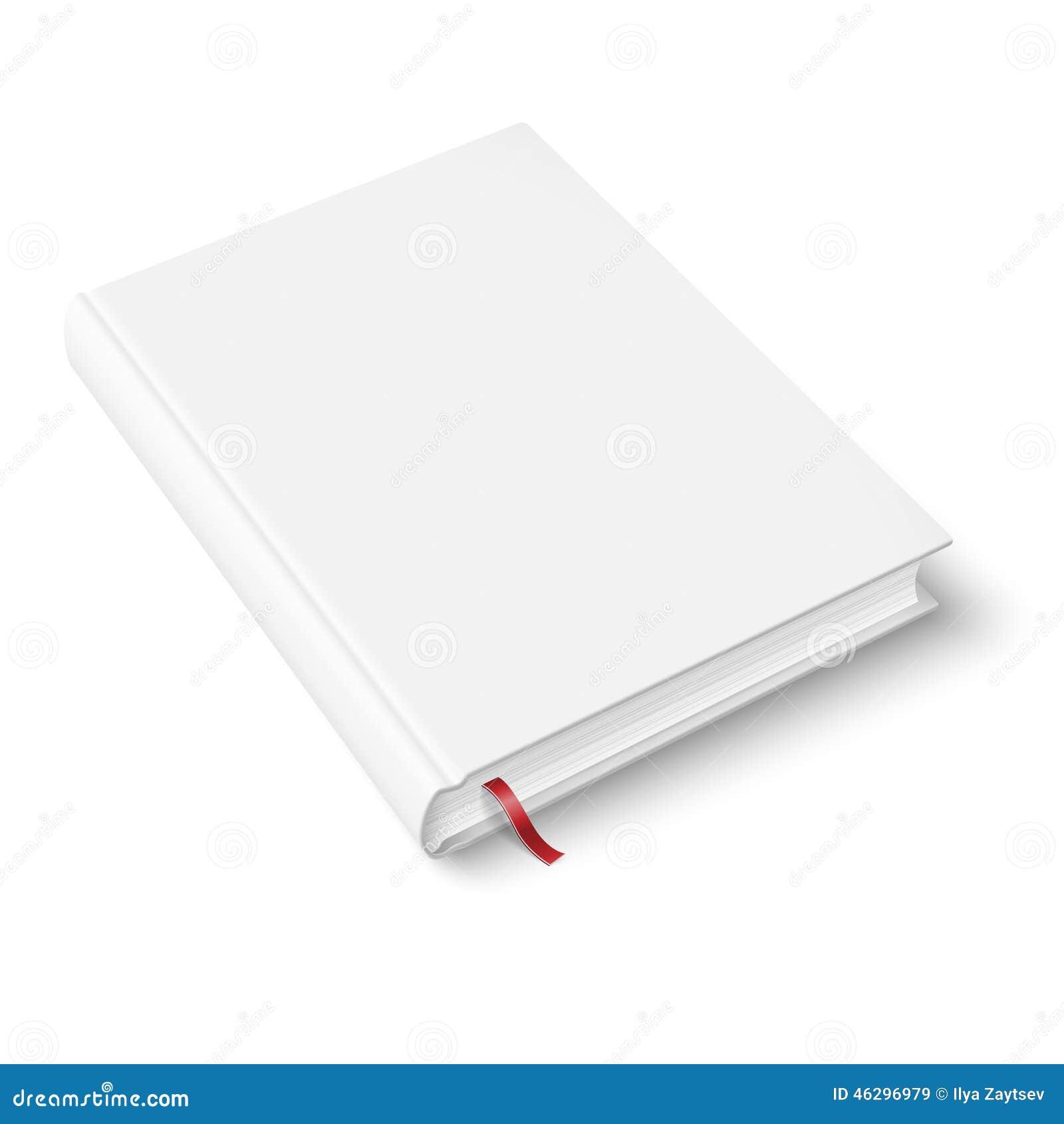 Leeg boekmalplaatje met referentie