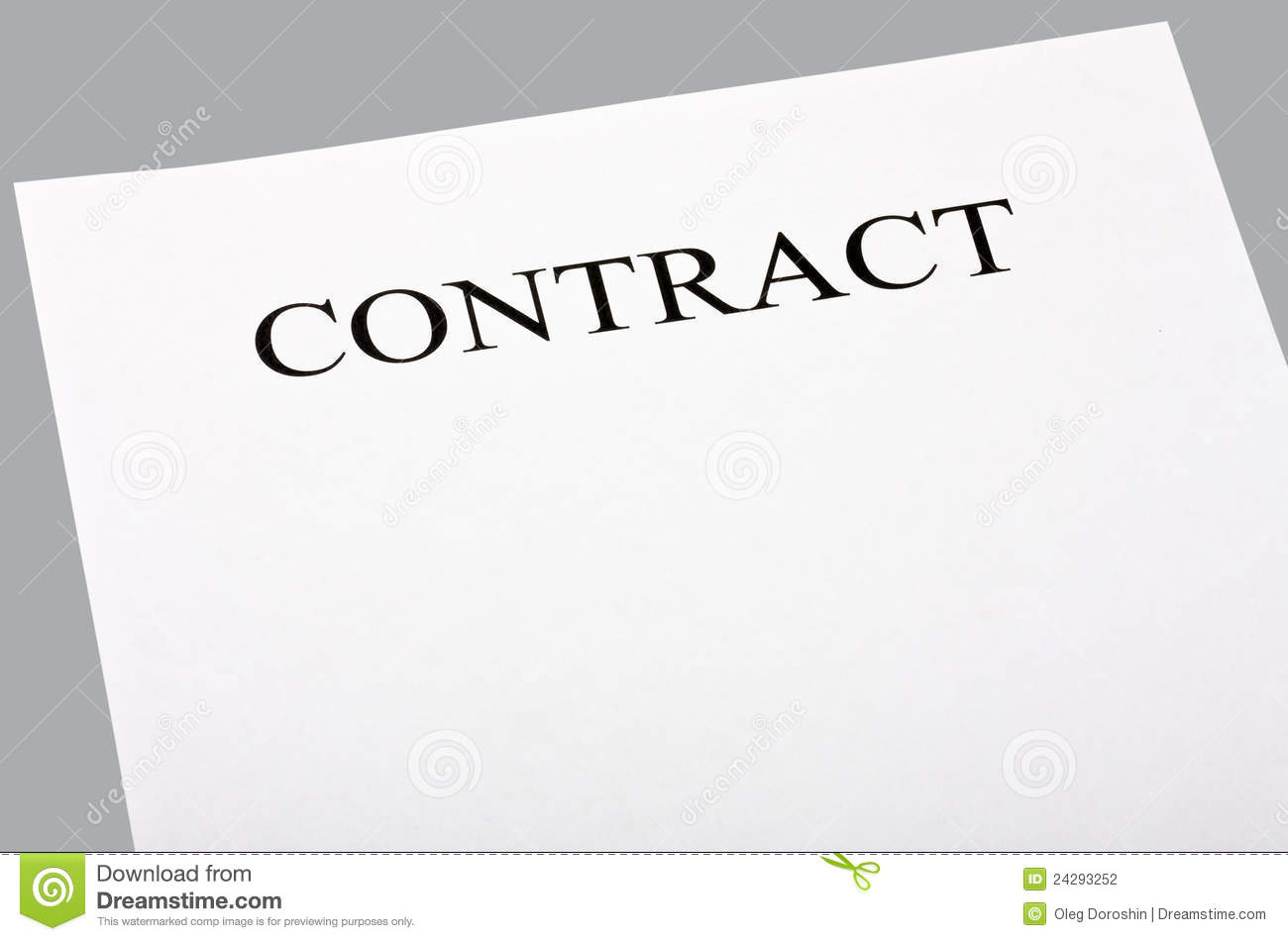 Essay on contracts