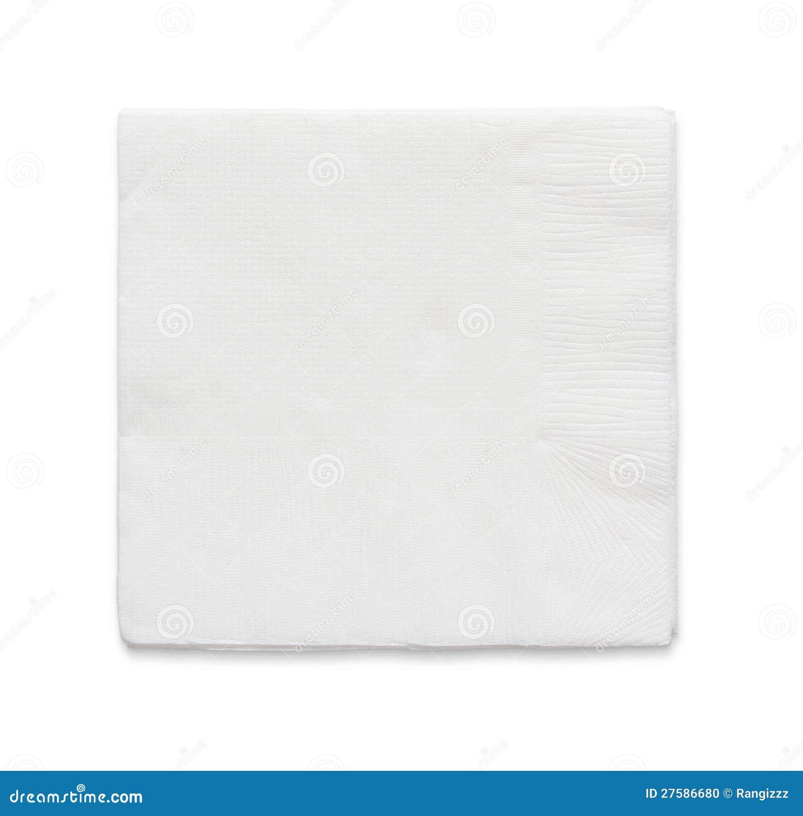 Leeg document servet