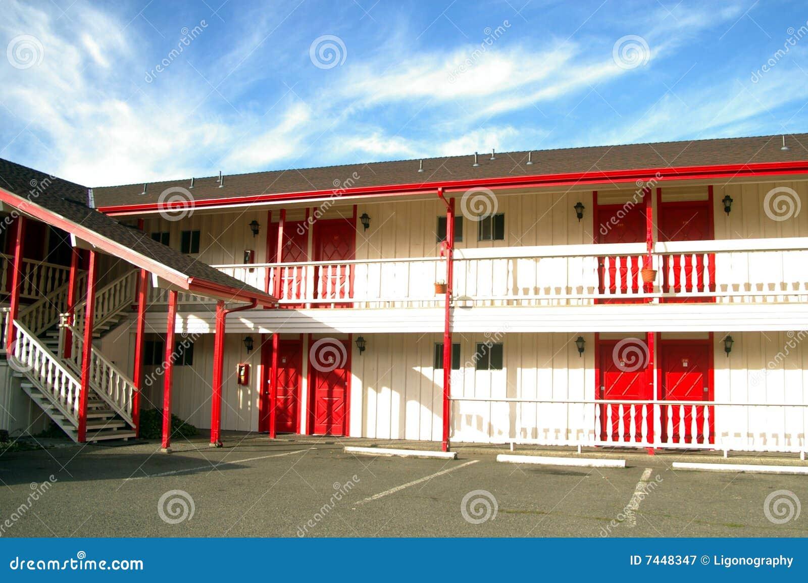 Leeg motel