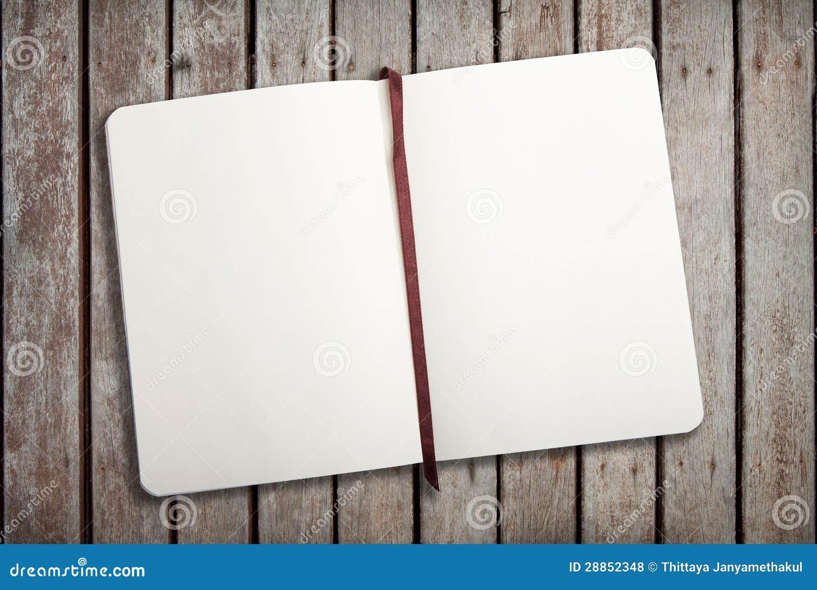 Leeg notitieboekje