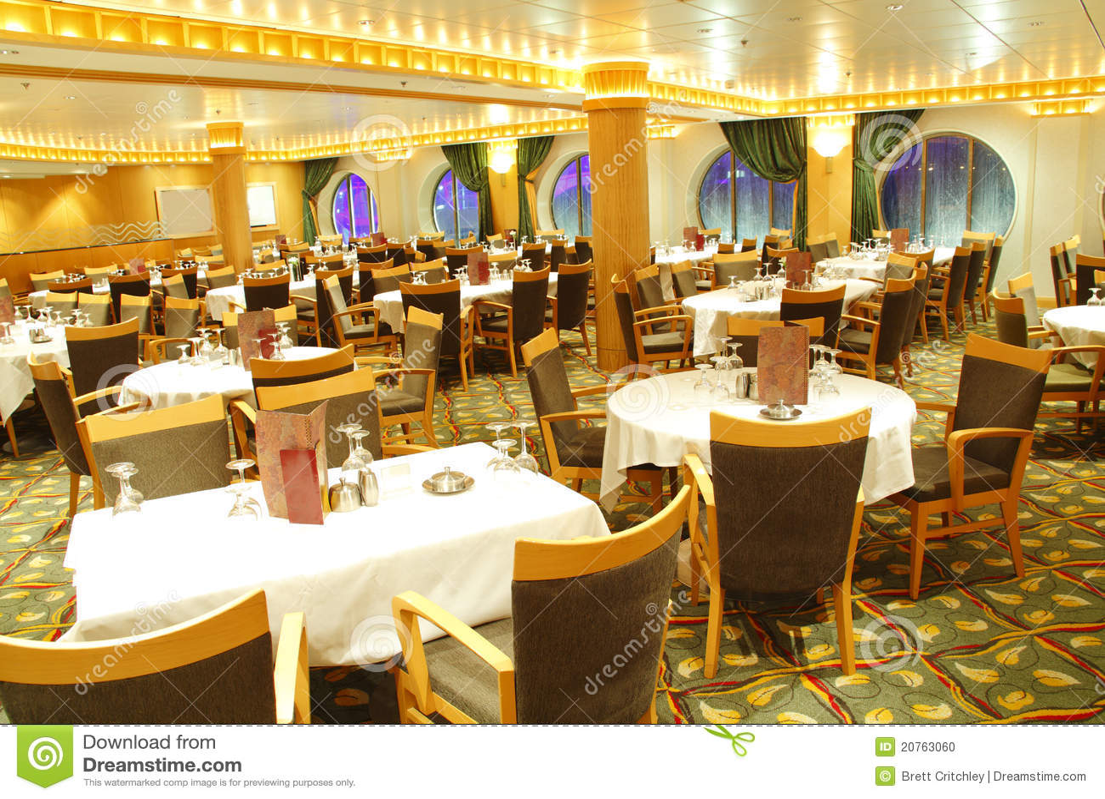 Leeg restaurant
