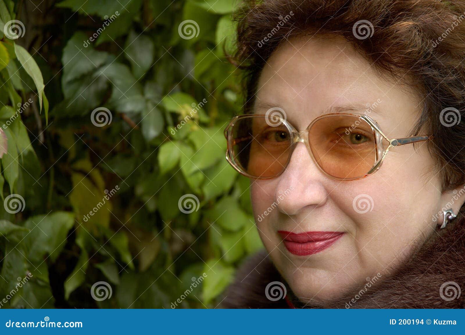 Leendekvinna