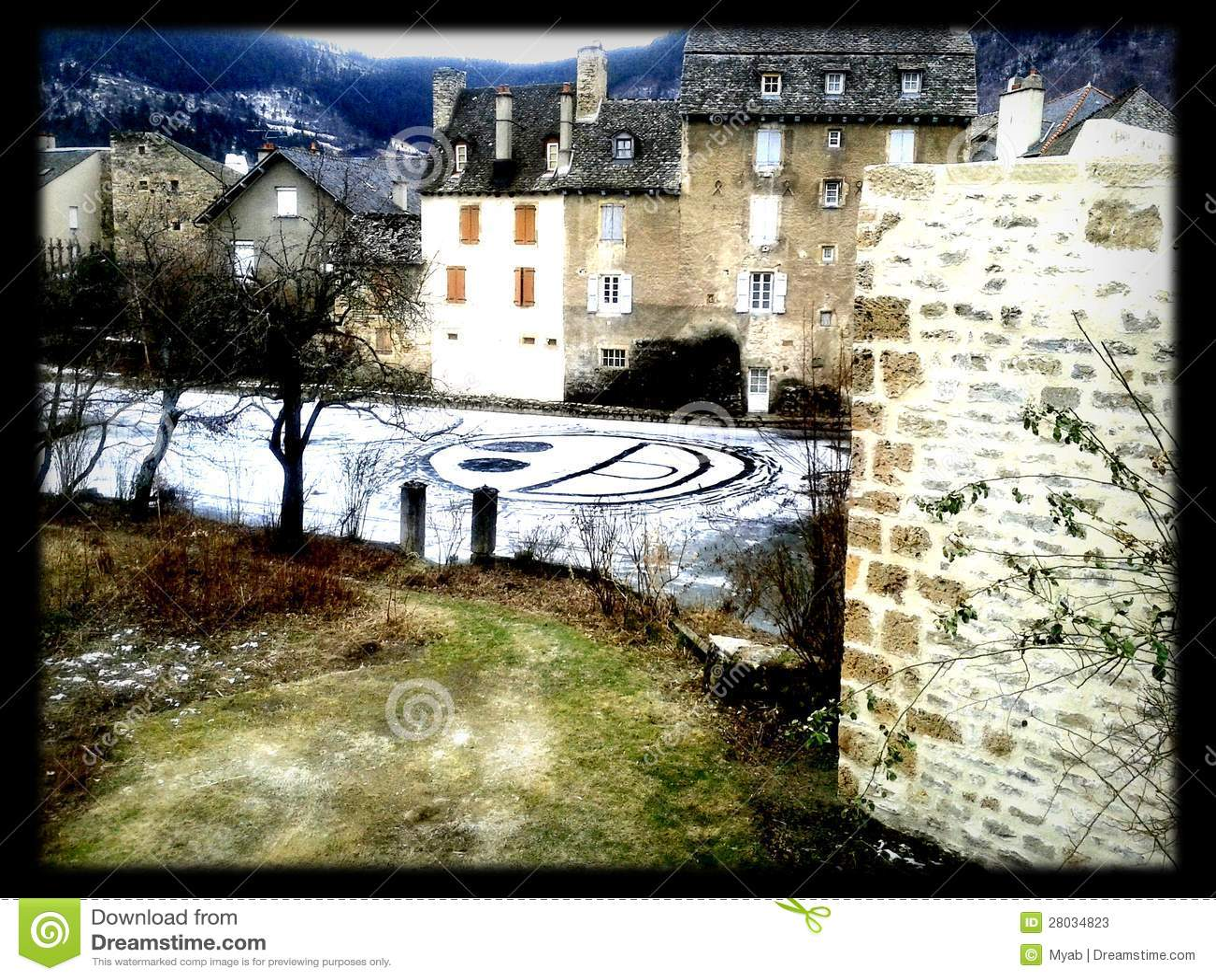 Leendet vinter är i townen