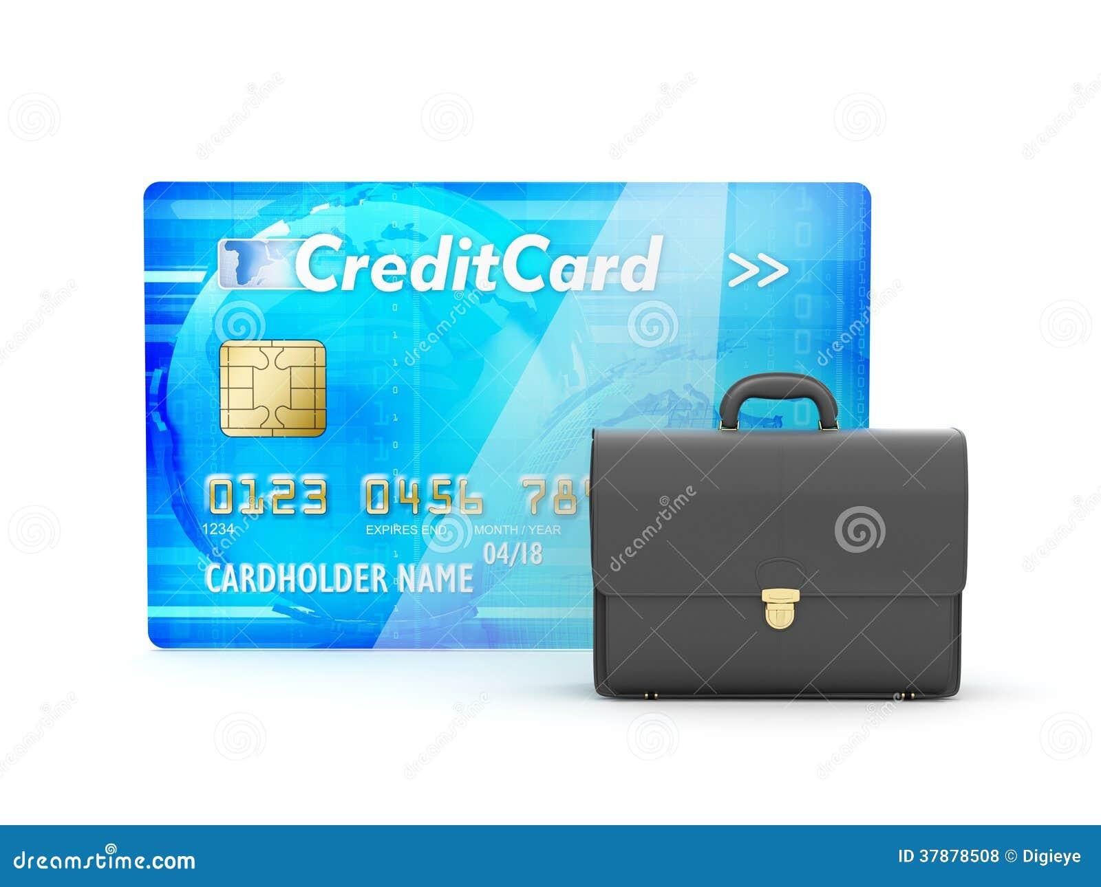 Leeraktentas en creditcard