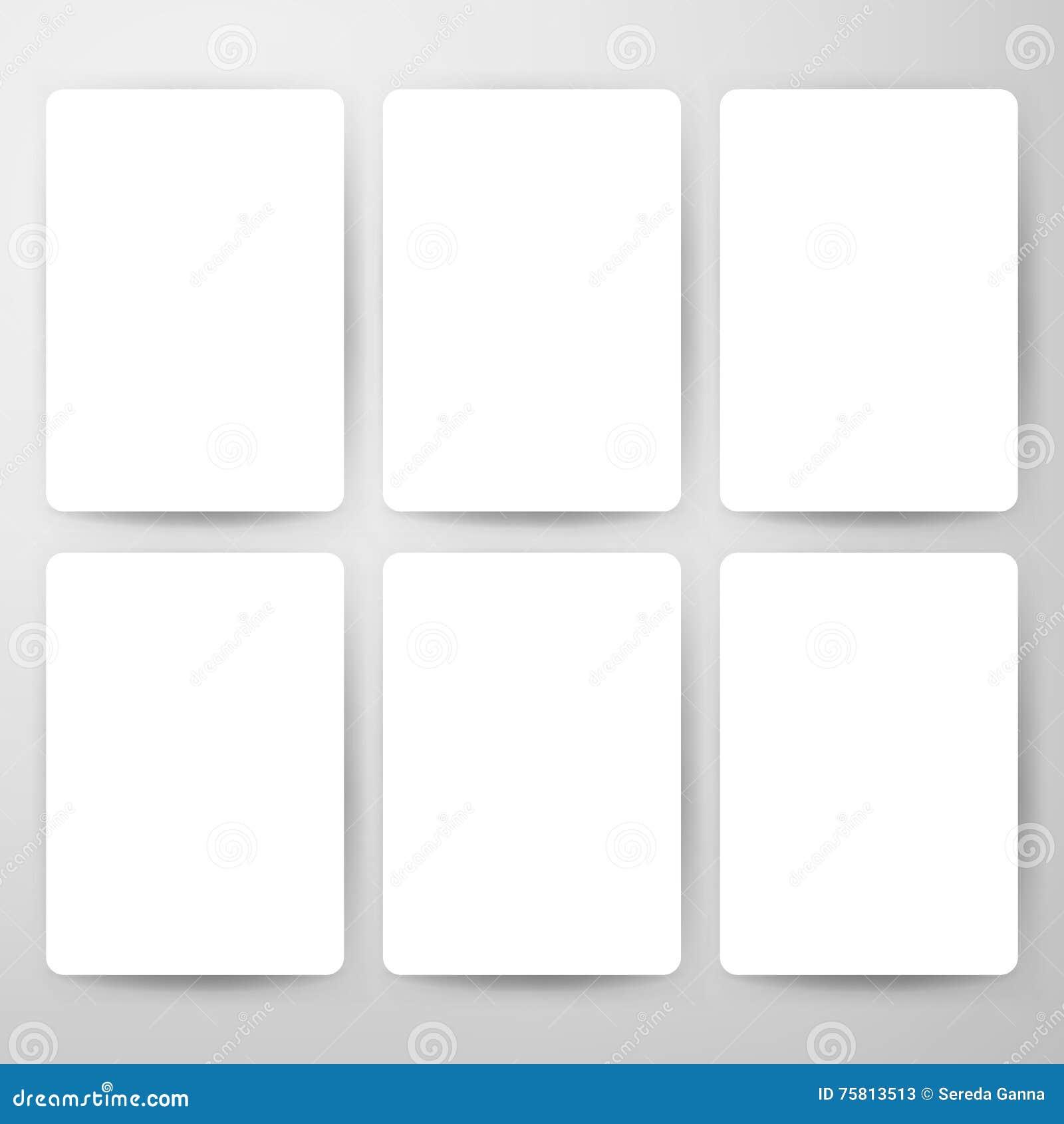 Berühmt Leere Kartenvorlage Zeitgenössisch ...