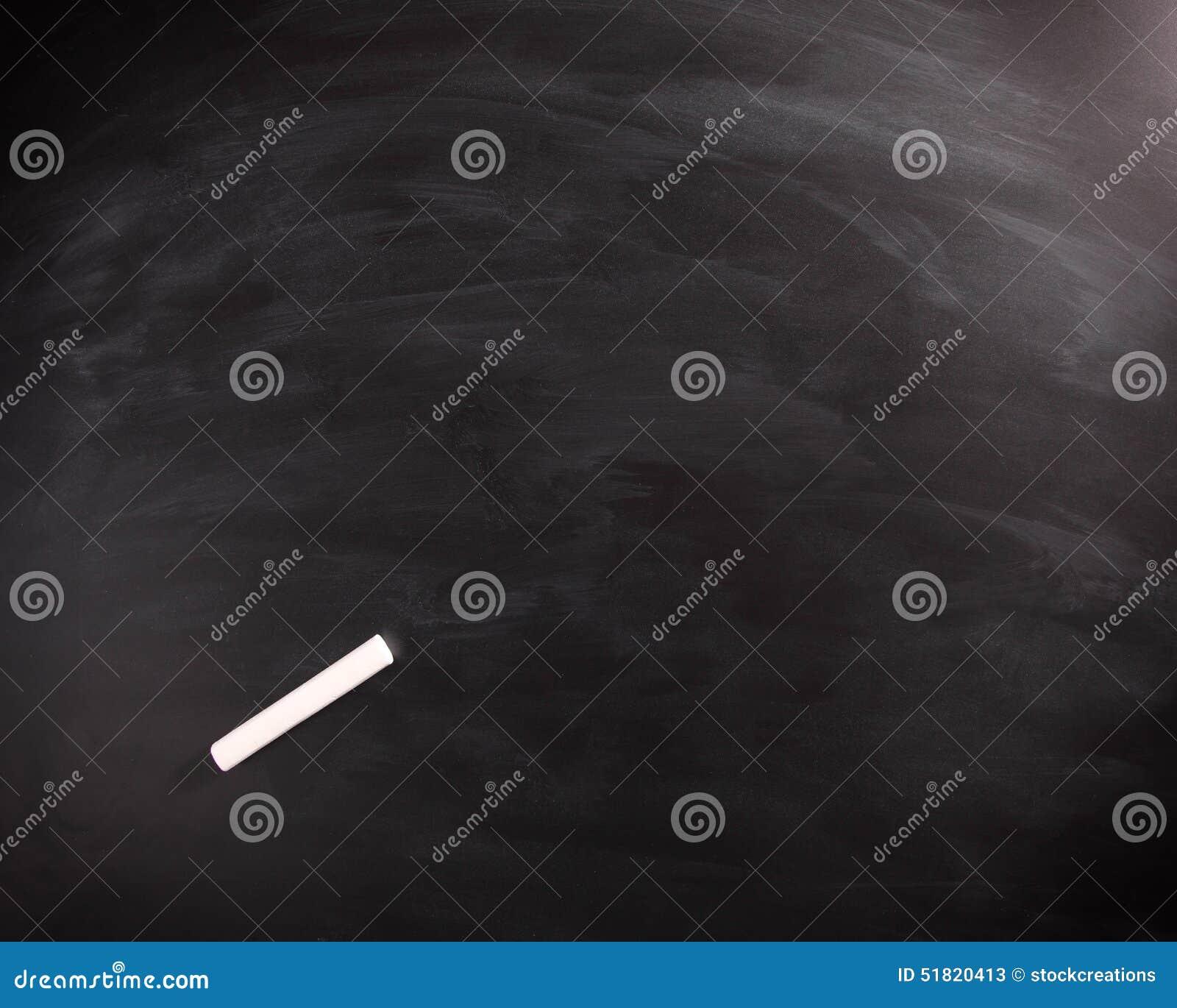 leere schwarze tafel mit kreide stock auf die oberseite. Black Bedroom Furniture Sets. Home Design Ideas