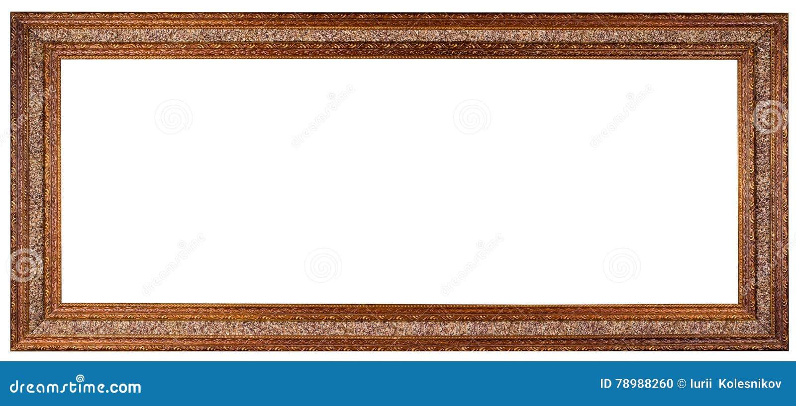 Leerer Bilderrahmen stockfoto. Bild von rand, luxus, land - 78988260