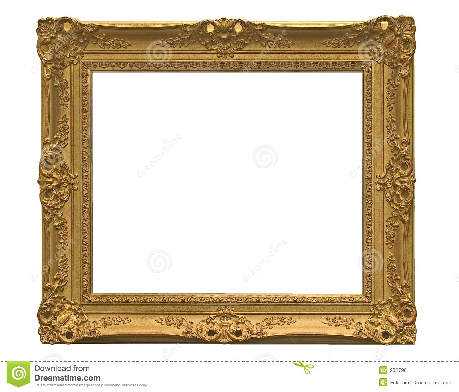 leerer bilderrahmen mit ausschnittspfad stockfoto bild. Black Bedroom Furniture Sets. Home Design Ideas