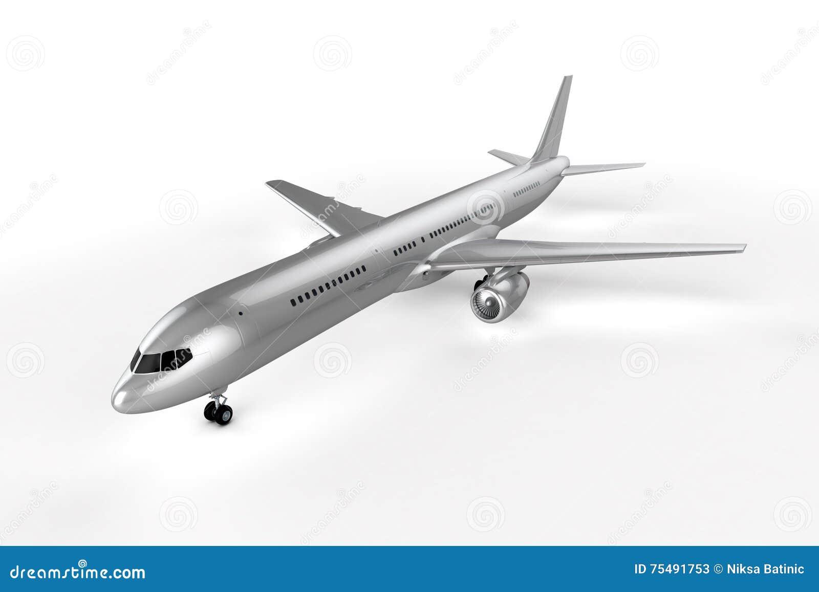 Leerer Flugzeug-Hintergrund Stock Abbildung - Illustration von reise ...
