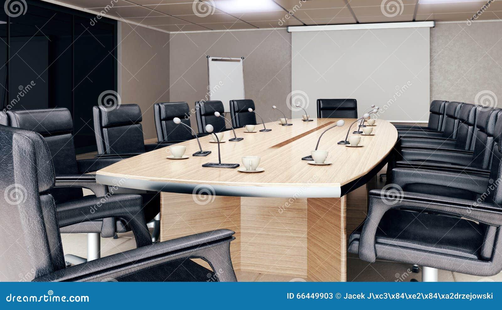 Leerer Konferenzsaalinnenraum