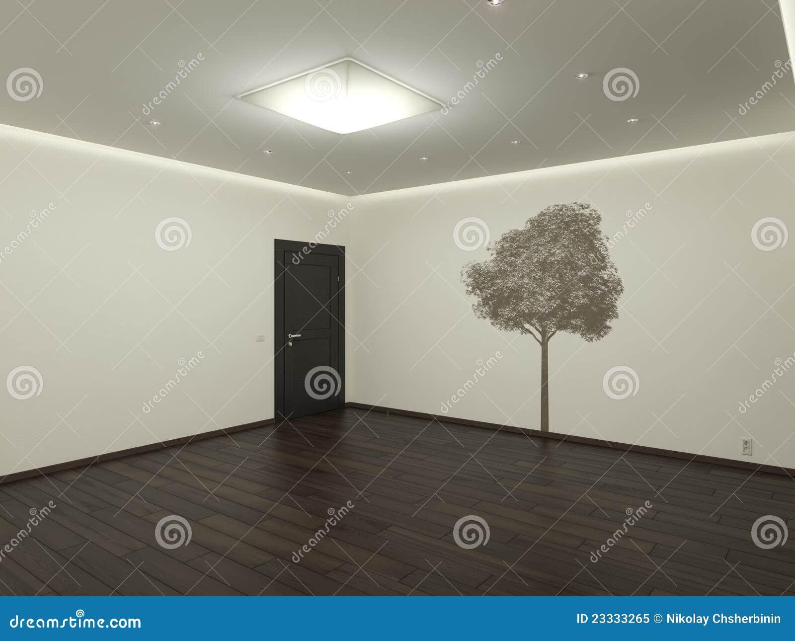 leerer raum lizenzfreies stockfoto bild 23333265. Black Bedroom Furniture Sets. Home Design Ideas