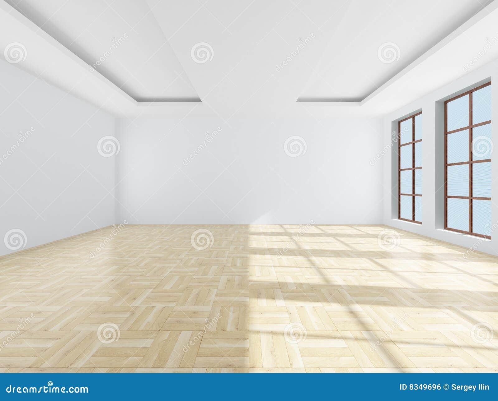leerer raum bild 3d lizenzfreies stockbild bild 8349696. Black Bedroom Furniture Sets. Home Design Ideas