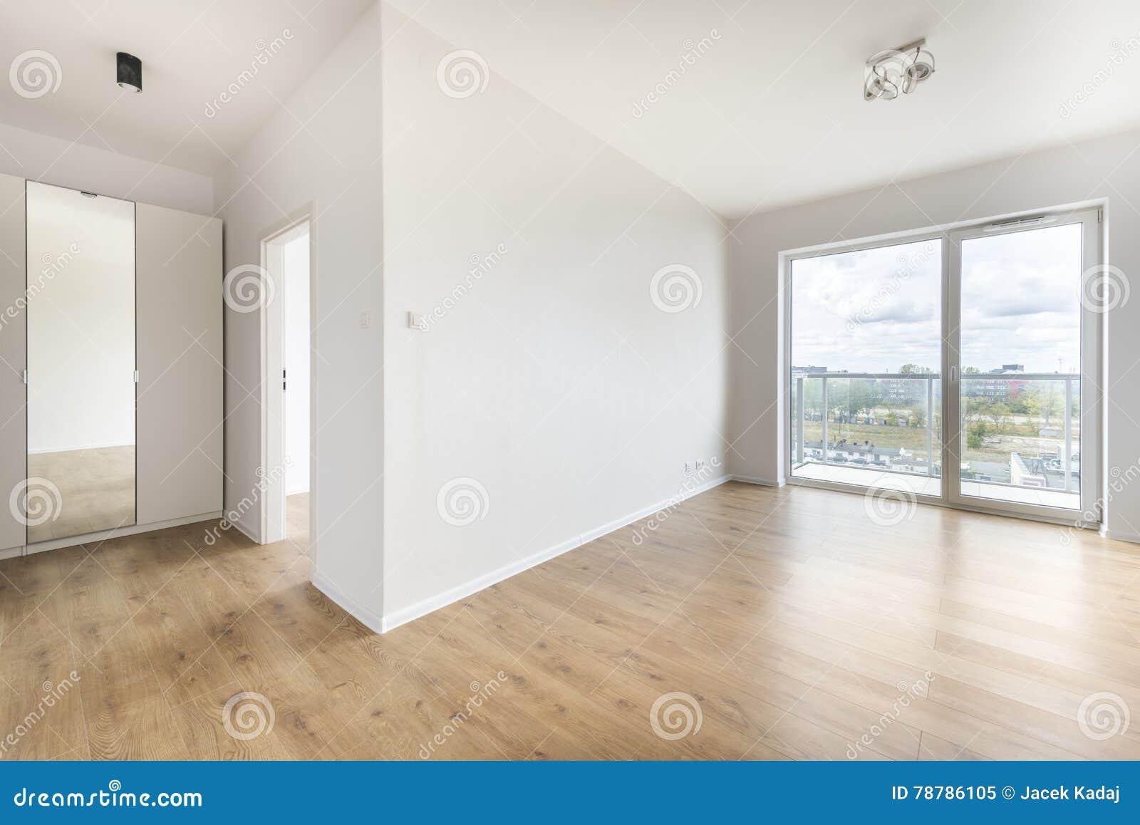 Leerer Raum-Innenarchitektur Stockbild - Bild von schrank, gebäude ...