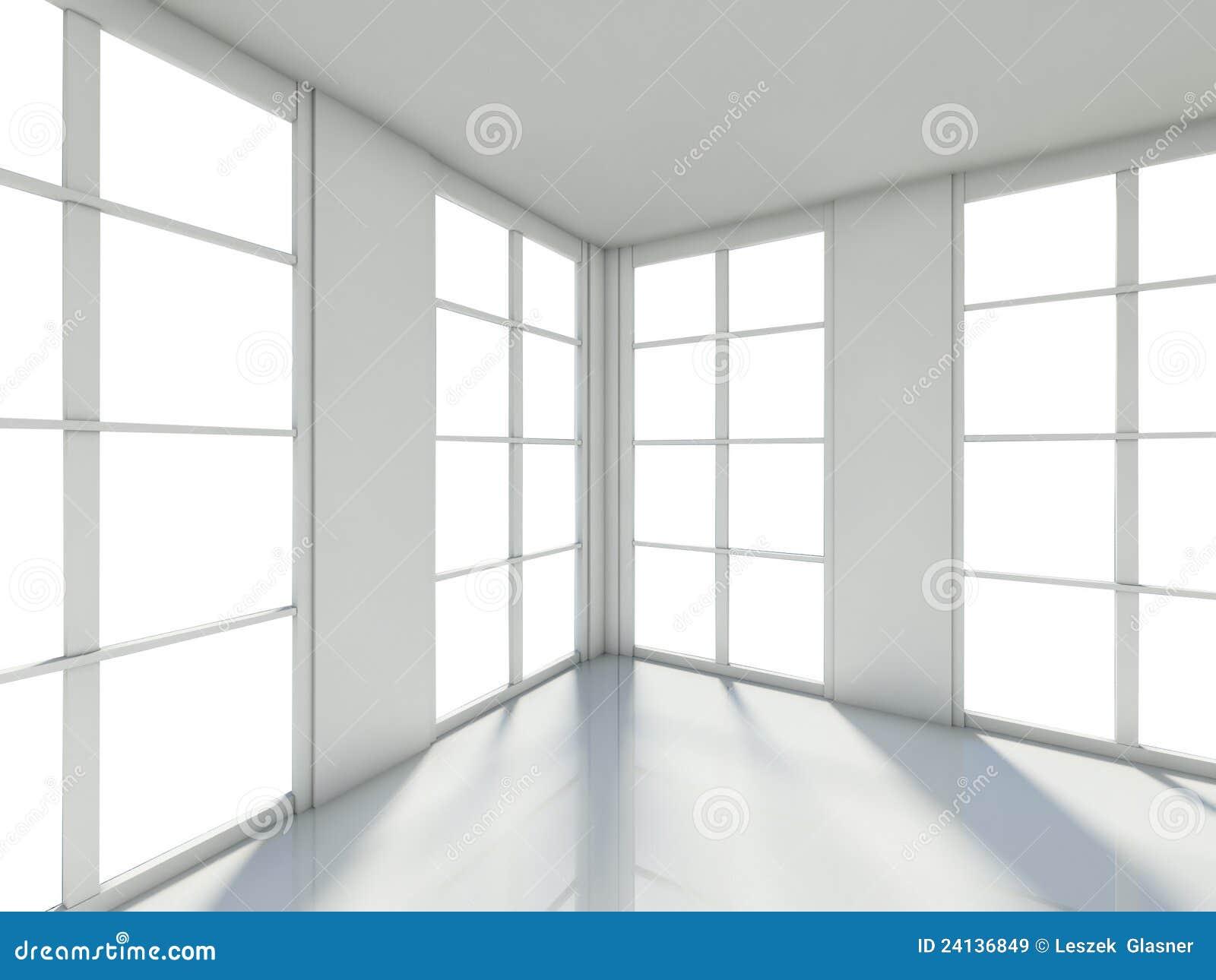 leerer raum innenraum des hauses 3d lizenzfreie stockbilder bild 24136849. Black Bedroom Furniture Sets. Home Design Ideas