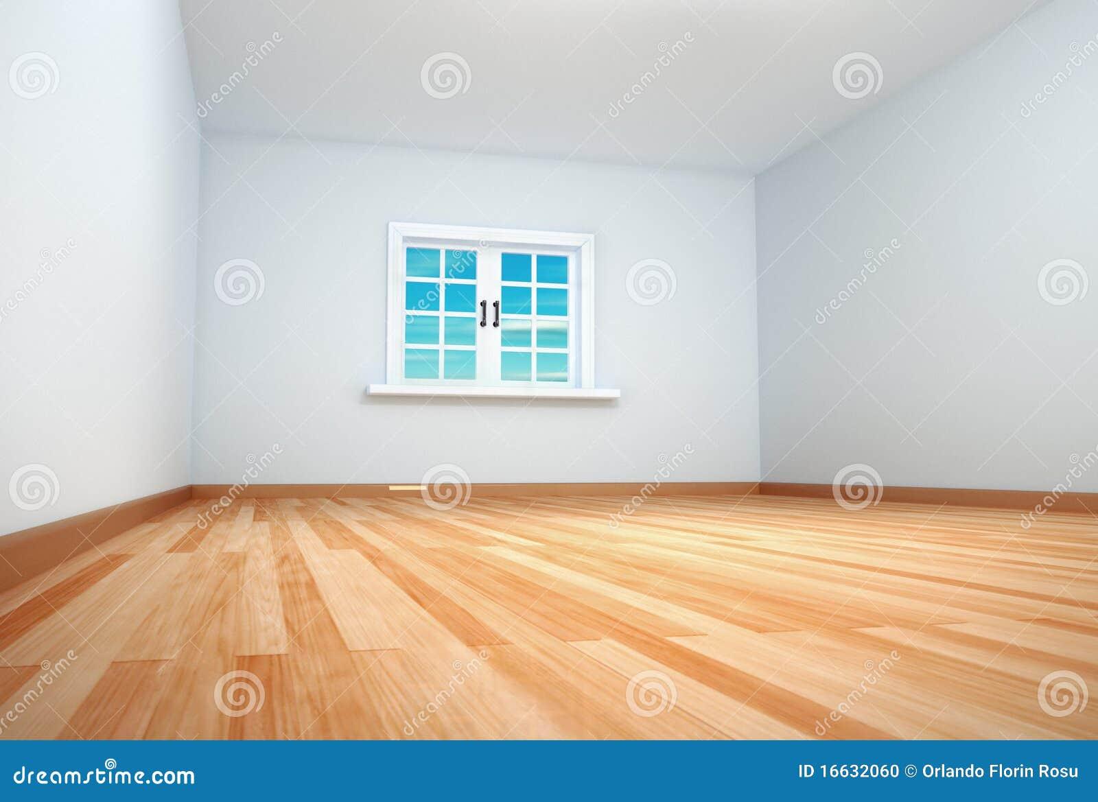 leerer raum mit dem fenster geschlossen stock abbildung bild 16632060. Black Bedroom Furniture Sets. Home Design Ideas