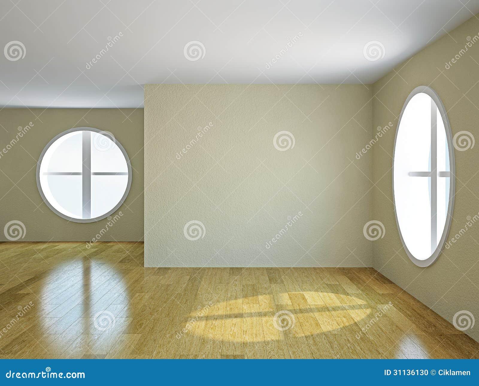 leerer raum mit fenstern stockfoto bild 31136130. Black Bedroom Furniture Sets. Home Design Ideas