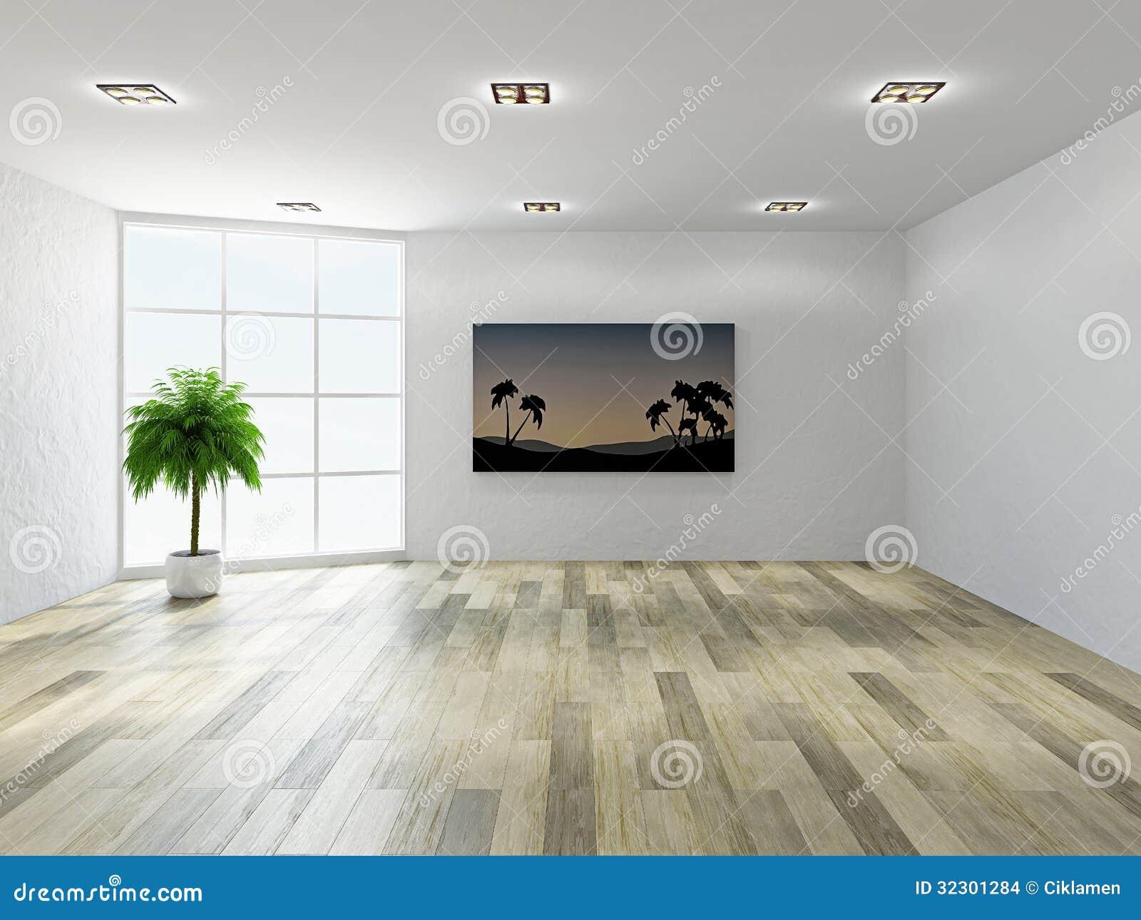 leerer raum mit fenstern stockbilder bild 32301284. Black Bedroom Furniture Sets. Home Design Ideas