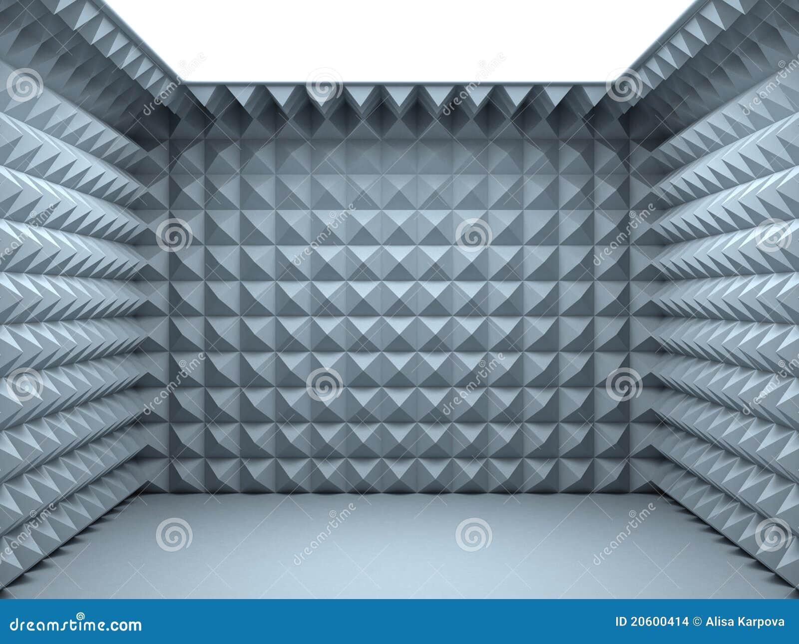 Soundproofing Bedroom Leerer Schalldichter Raum Stockbilder Bild 20600414