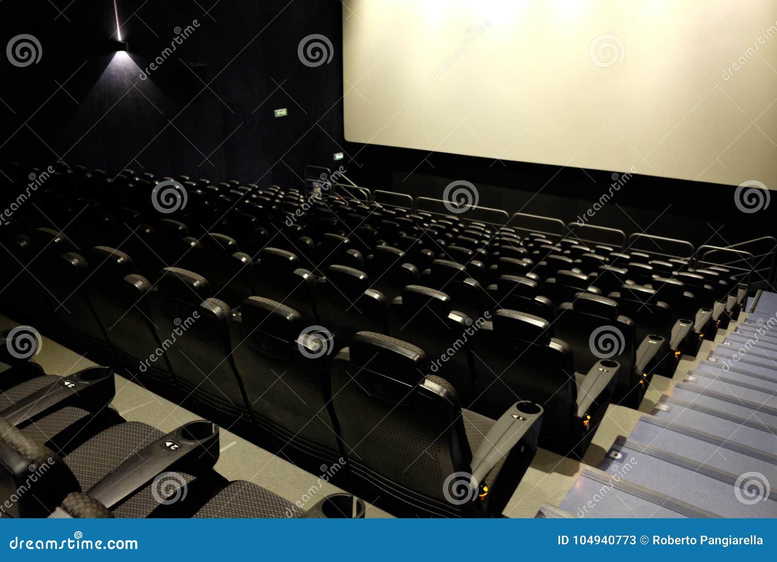 Leeres Filmtheater