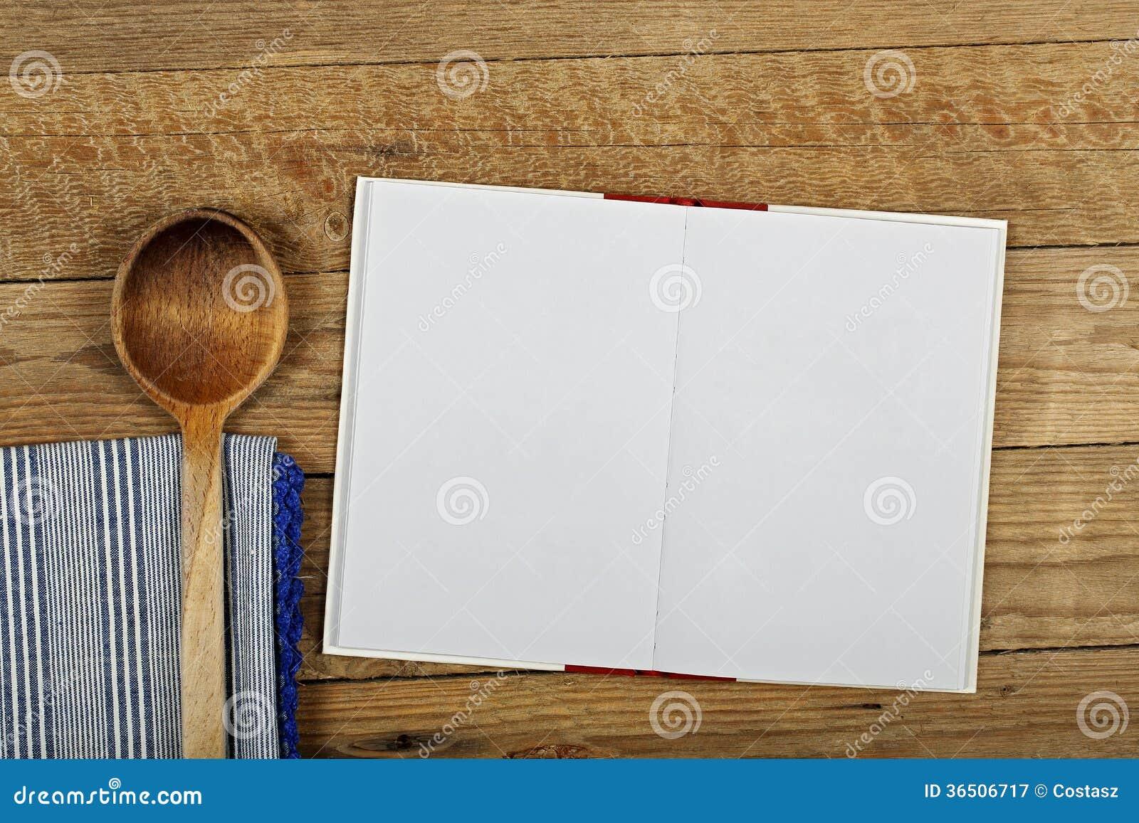 leeres kochbuch stockbild bild von anzeige liste buch 36506717. Black Bedroom Furniture Sets. Home Design Ideas
