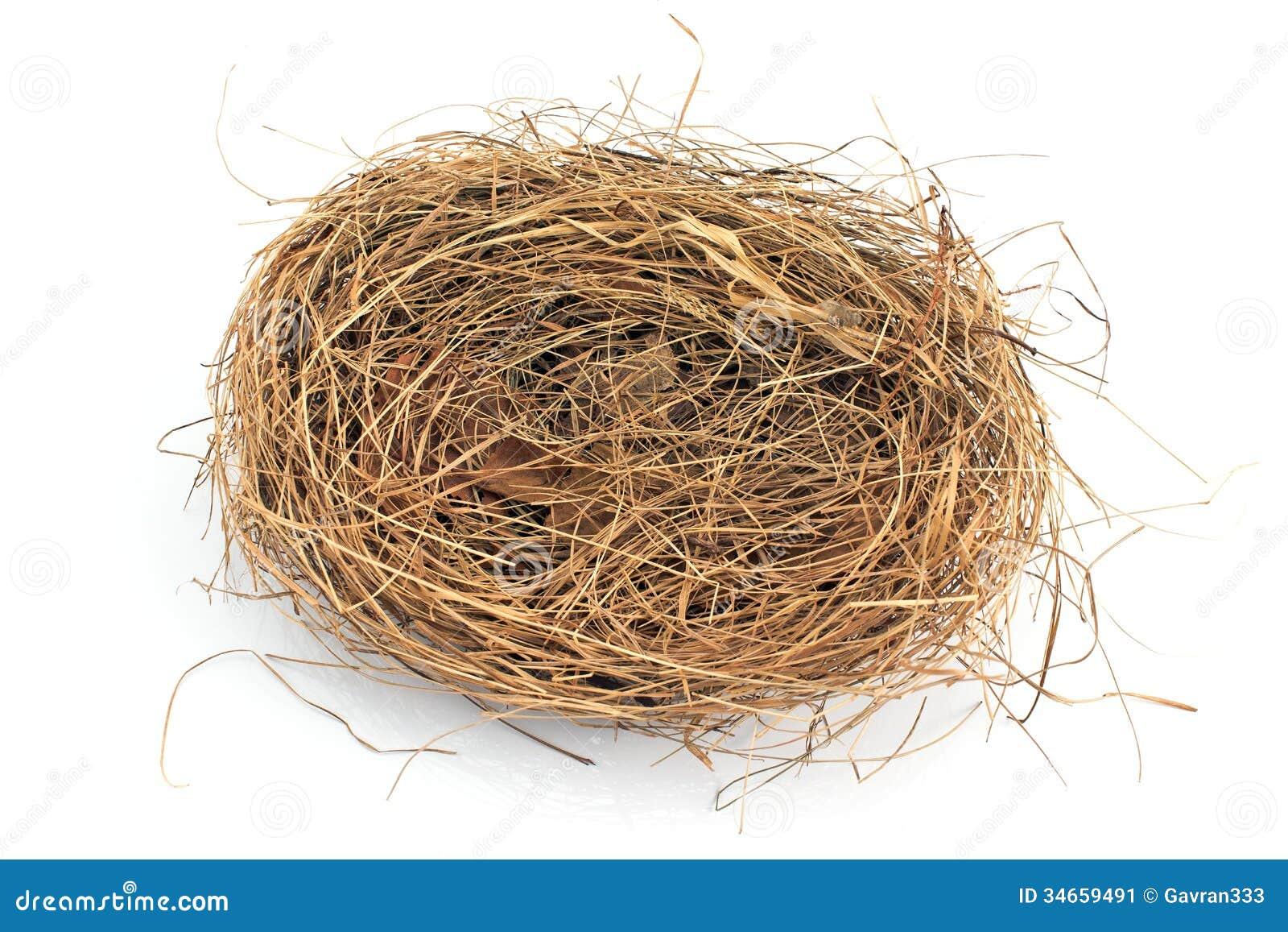 leeres nest stockbild bild 34659491. Black Bedroom Furniture Sets. Home Design Ideas