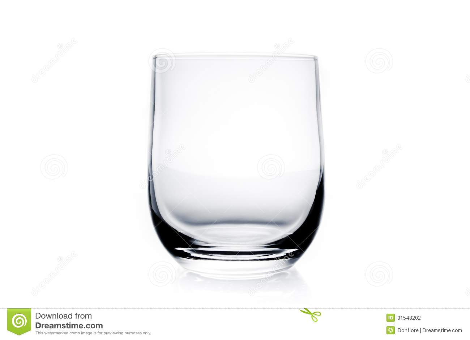 leeres wasserglas stockfotografie bild 31548202. Black Bedroom Furniture Sets. Home Design Ideas