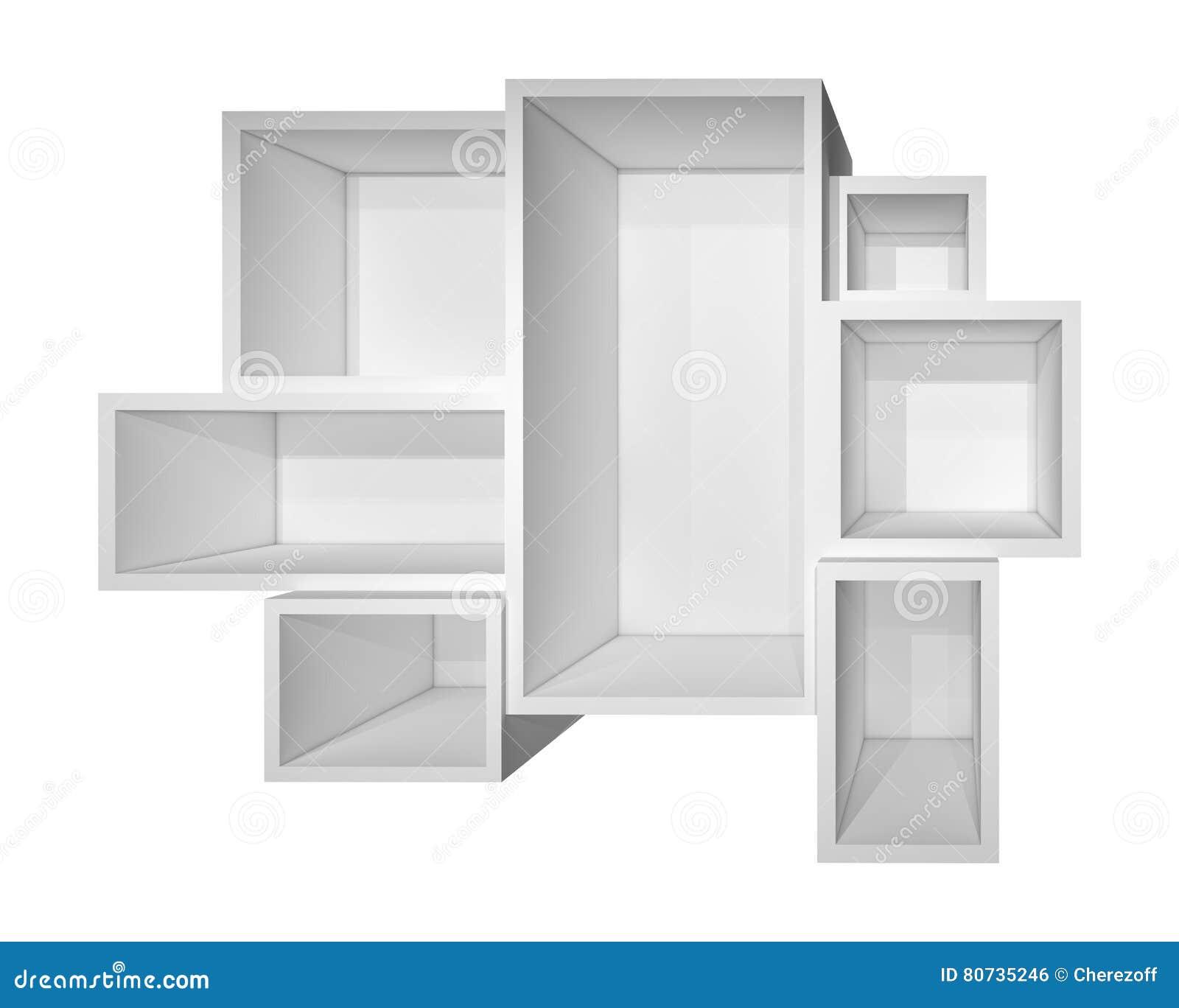Bezaubernd Weißes Bücherregal Foto Von Pattern Leeres Weißes Bücherregal Stockfoto. Bild Von