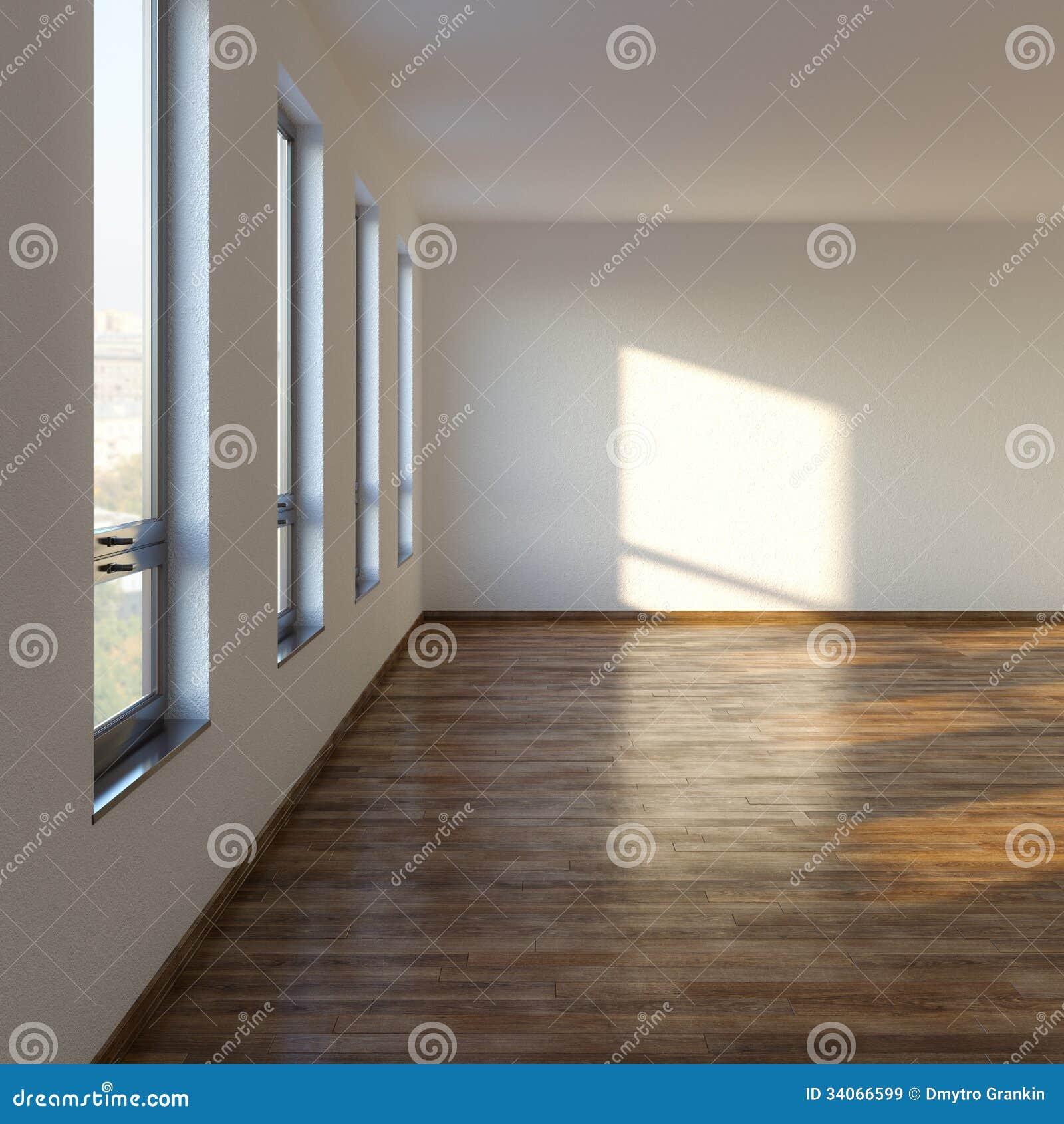 Malerisch Bodenbelag Wohnzimmer Foto Von Pattern Leeres Mit Lamellenförmig Em Stock Abbildung